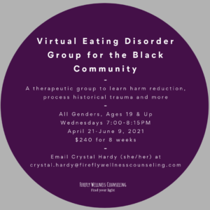 information about eating disorder group